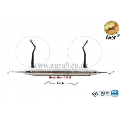 Dental Excavator 127/128, Head size 2 mm