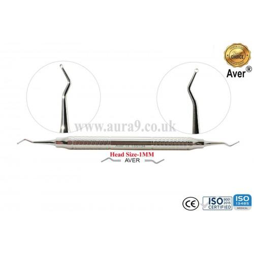 Dental Excavator 133/134, Head size 1 mm