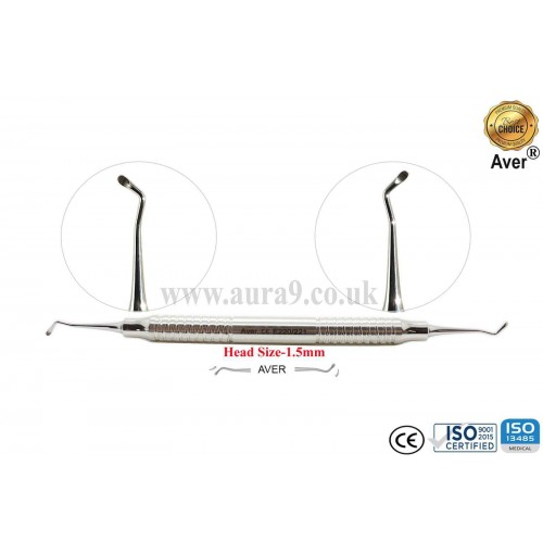 Dental Excavator 220/221, Head size 1.5 mm