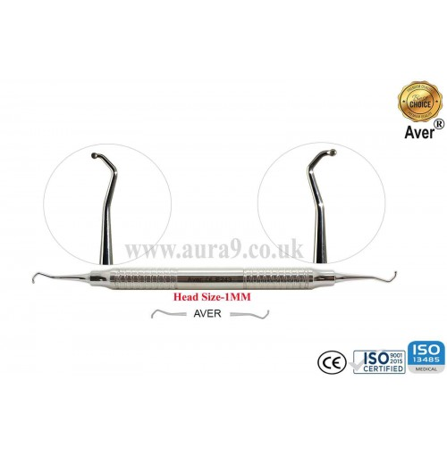Dental Excavator 243, Head size 1 mm