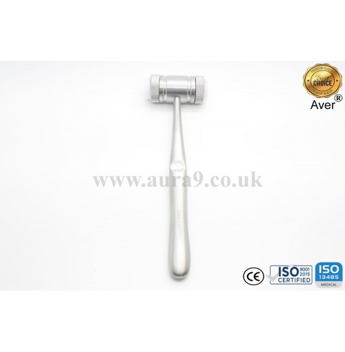 Mallet, Mead Dental Surgical Mallet With Solid Handle for Oral Surgery