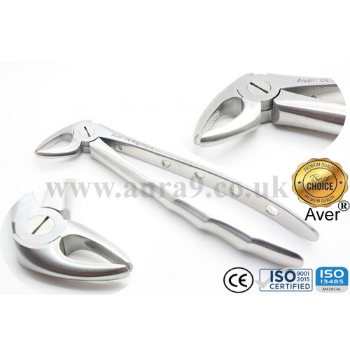 Dental Extracting Forcep, No. 4 Upper Incisors & Canines