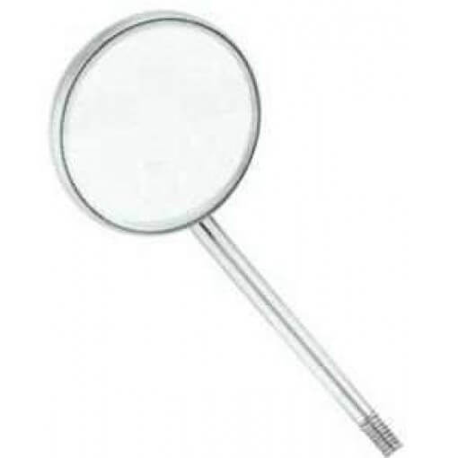 Dental Mouth Mirror, Magnifying, Pack of 12 Mirror Heads