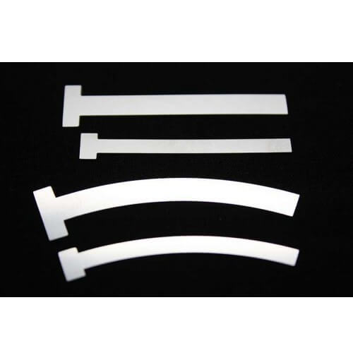 Dental Matrix Bands, T Shape, Large Straight & Curved, Small Straight & Curved 12 to 100 Bands