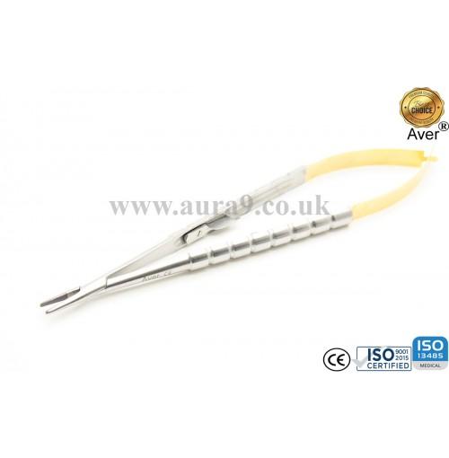 Castroviejo Needle Holder Straight 18 cm Tungsten Carbide Tip