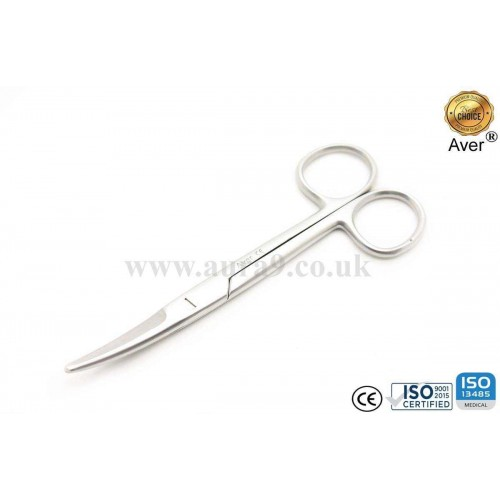 Stainless Steel Scissors, Mayo 14.5 CM Curved
