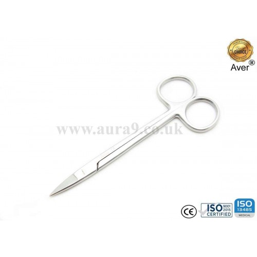 Stainless Steel Scissors, Quinby 12.5 CM Straight