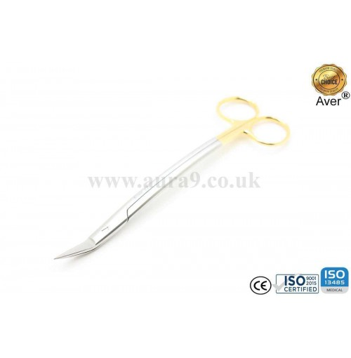 Stainless Steel Scissors Tungsten Carbide Tip, Dean 17 CM
