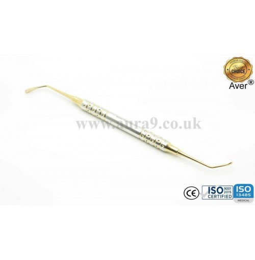 Sinus Lift Instrument, Gold Titanium Coated 10/3 - AV031