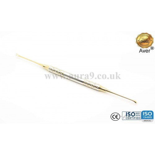 Sinus Lift Instrument, Gold Titanium Coated 10/8 - AV036