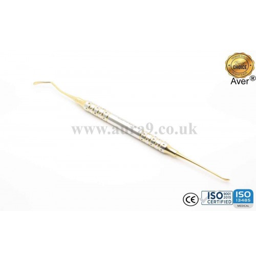 Sinus Lift Instrument, Gold Titanium Coated 10/9 - AV037
